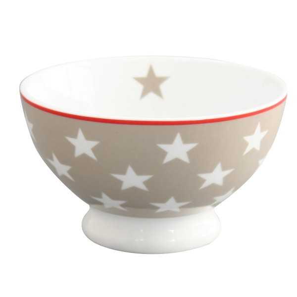 Lille skål i porcelæn til morgenmad, snacks m.m.