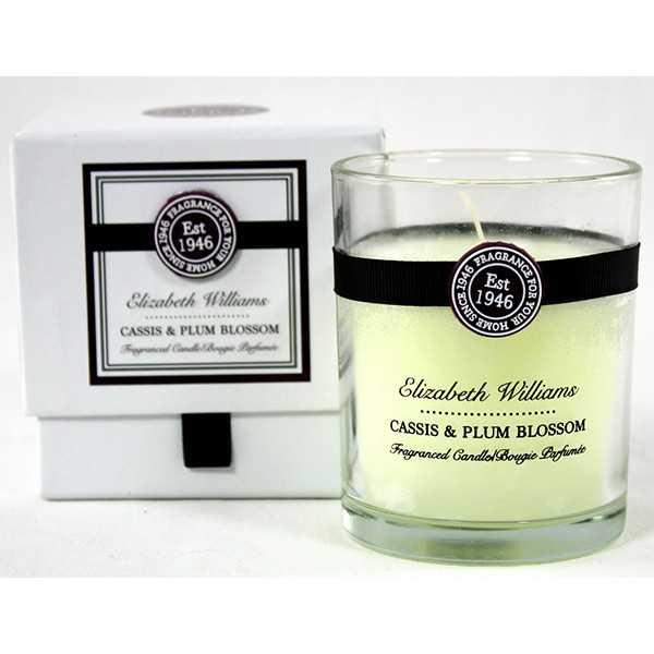 Duftlys i glas - Cassis & Plum Blossom