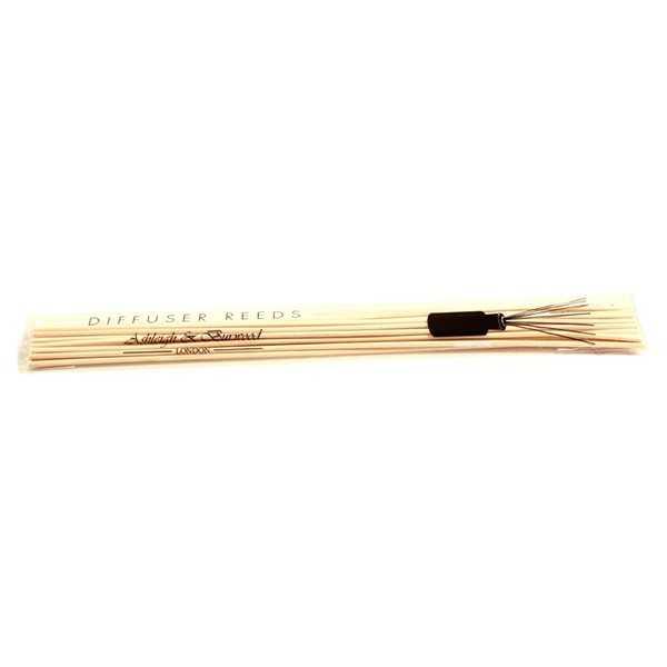 Refill af bambuspinde til duftolie 10 stk.