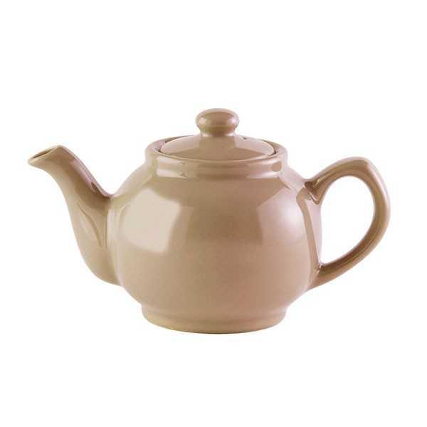 Lille tekande til 2 kopper te - Taupe Gloss (gråbrun)