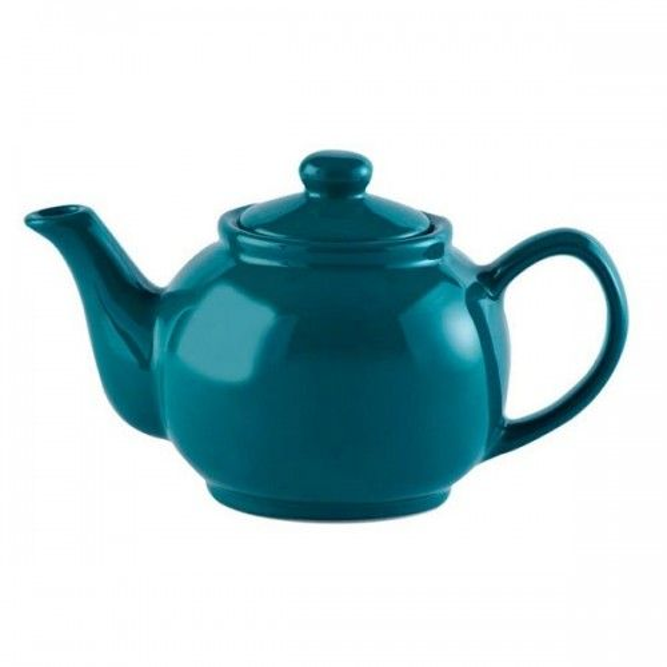Tekande til to kopper te - Blågrøn