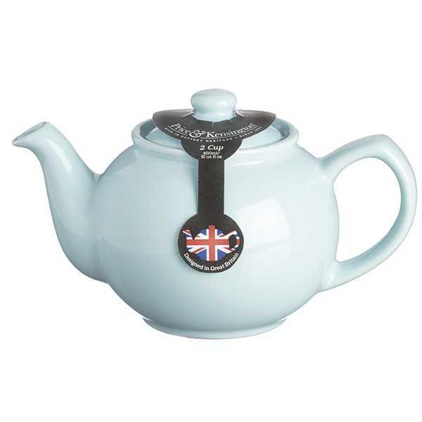 Tekande til 2 kopper te - pastelblå