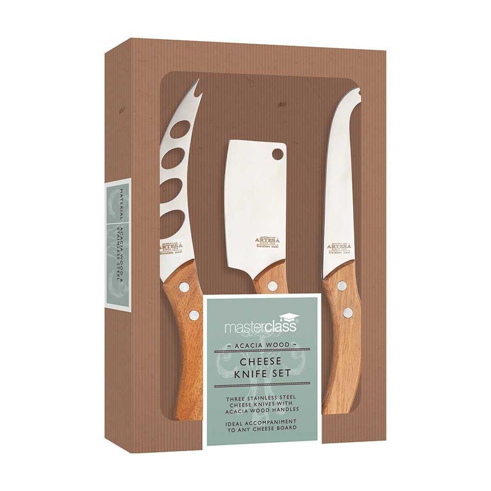 Osteknive sæt med tre forskellige - Kitchen Craft